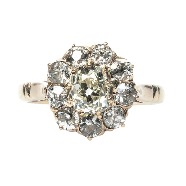greenhaven cluster engagement ring