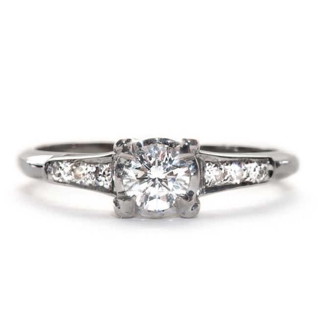 Vintage Retro Era Engagement Ring | Canton from Trumpet & Horn