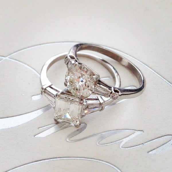 riverview vintage engagement rings