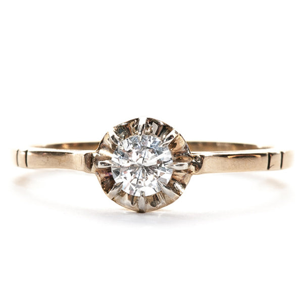 Victorian Engagement Ring | Antique Engagement Ring