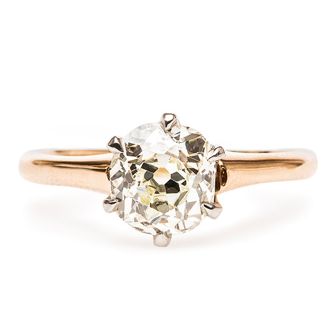 Vintage Edwardian Engagement Ring