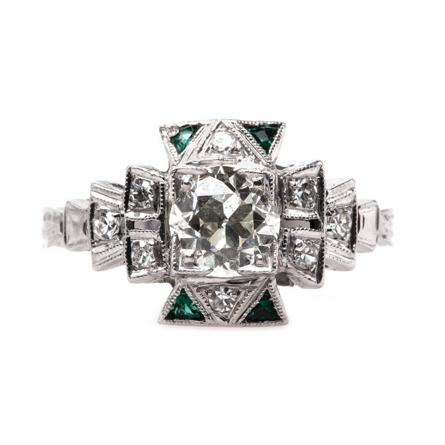 alderly art deco ring