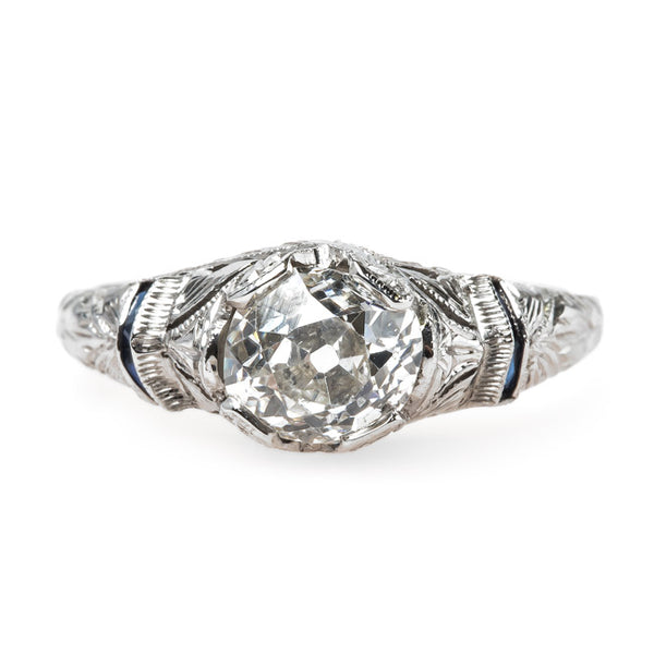 Delicate Edwardian Diamond Engagement Ring | Edenstone from Trumpet & Horn