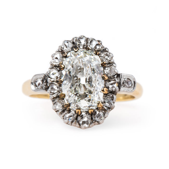Victorian Cluster Ring with French Hallmarks | Mornington from Trumpet & Horn