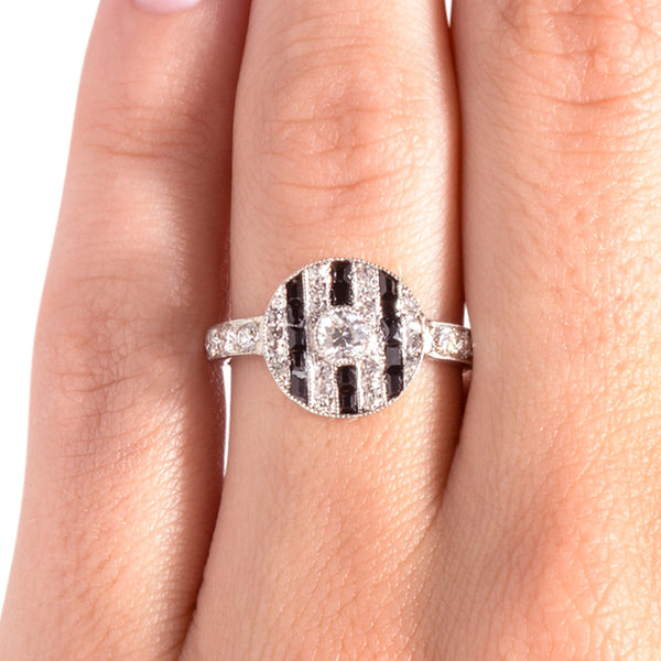fairlee art deco diamond ring