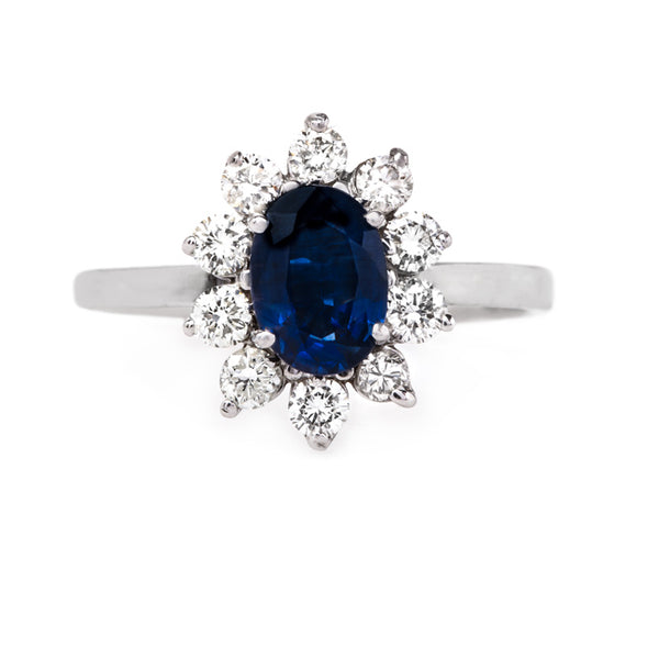 Sapphire and Diamond Snowflake Ring | Chester from Trumpet & Horn