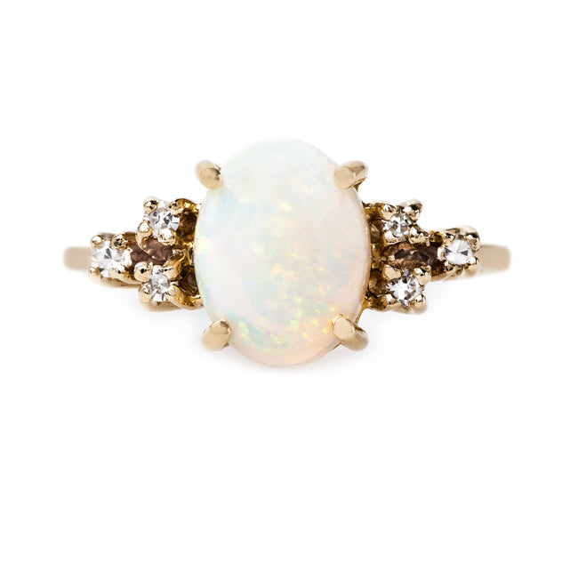 Splendid Opal and Diamond Ring | Tempe from Trumpet & Horn
