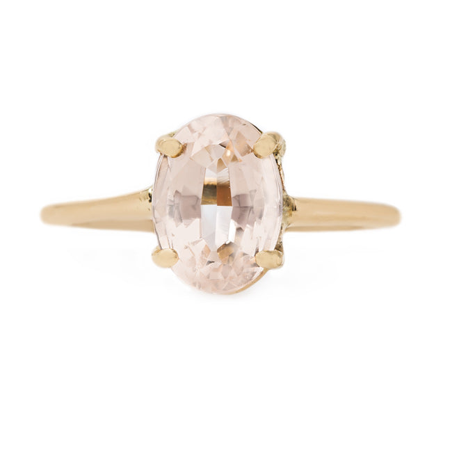 Sweet and Delicate Topaz Engagement Ring | Perth from Trumpet & Horn