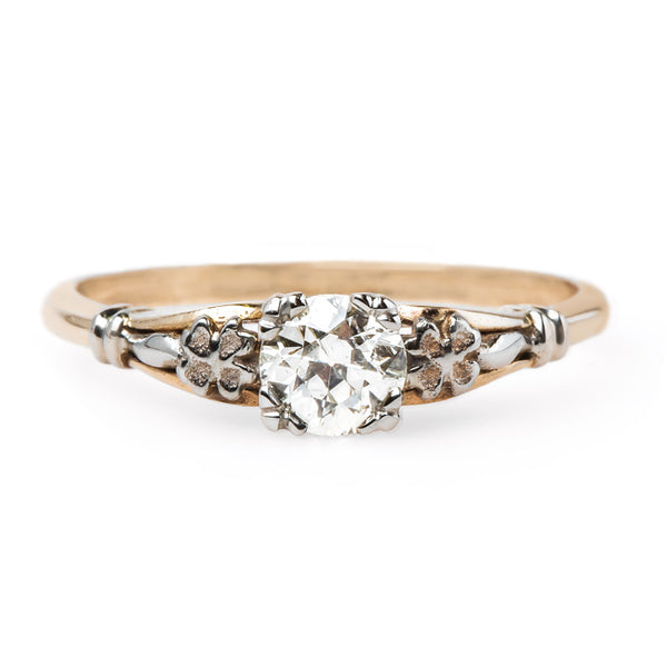 Romantic Mixed Metal Engagement Ring | Darwin from Trumpet & Horn