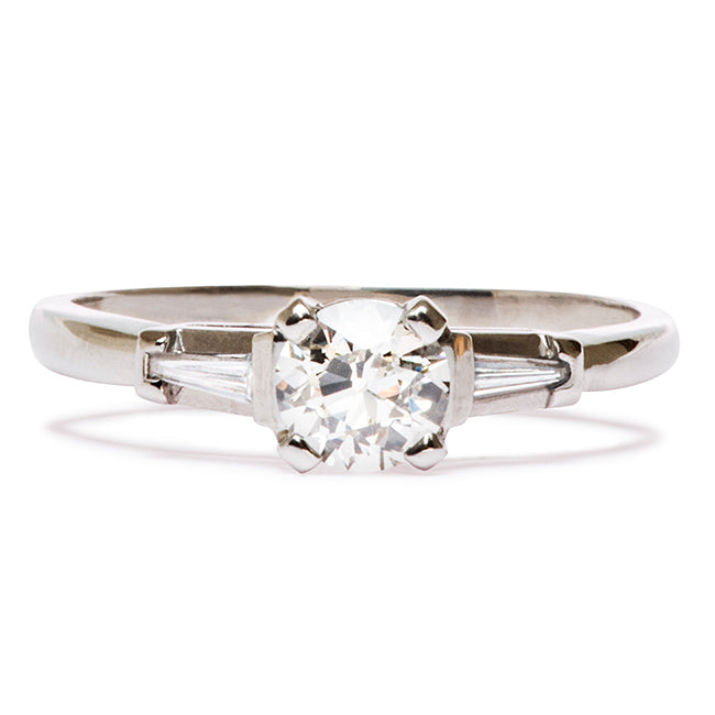 Art Deco Engagement Ring | East Point from Trumpet & Horn