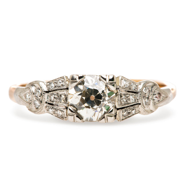 Vintage Antique Diamond Engagement Ring | Edwardian Engagement Ring | Ridgefield