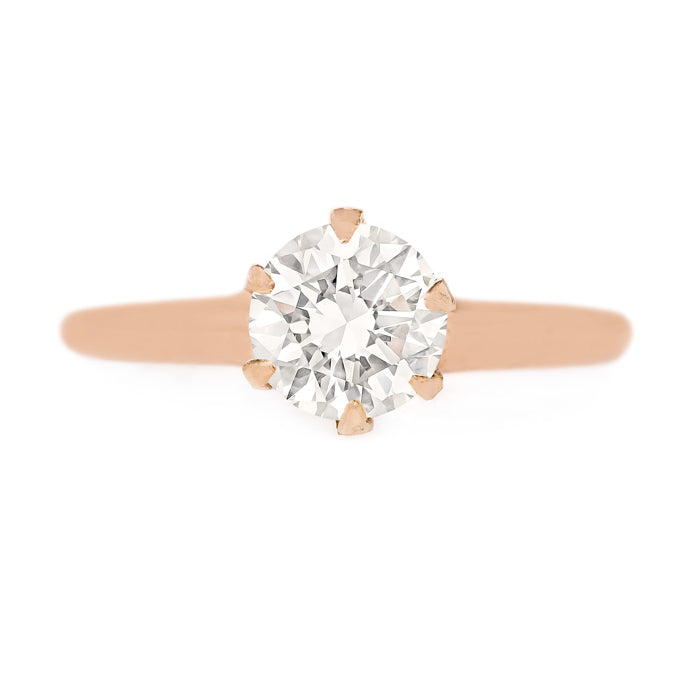 Classic Antique Solitaire Ring | Roswell from Trumpet & Horn