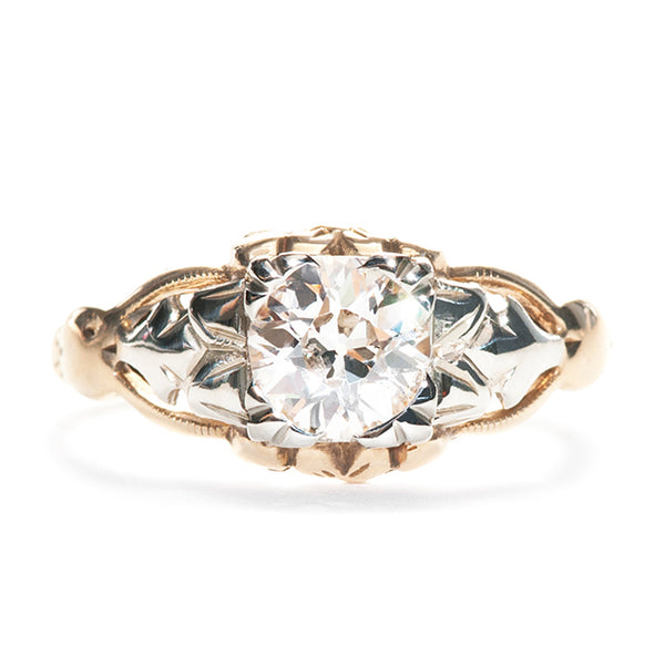 Victorian Engagement Ring | Vintage Engagement Ring