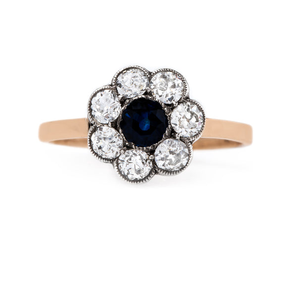 Classic Victorian Sapphire and Diamond Combination | Melville from Trumpet & Horn