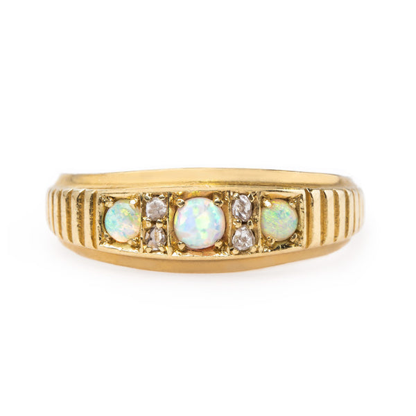 Victorian Opal Ring with English Hallmarks | Kenley from Trumpet & Horn