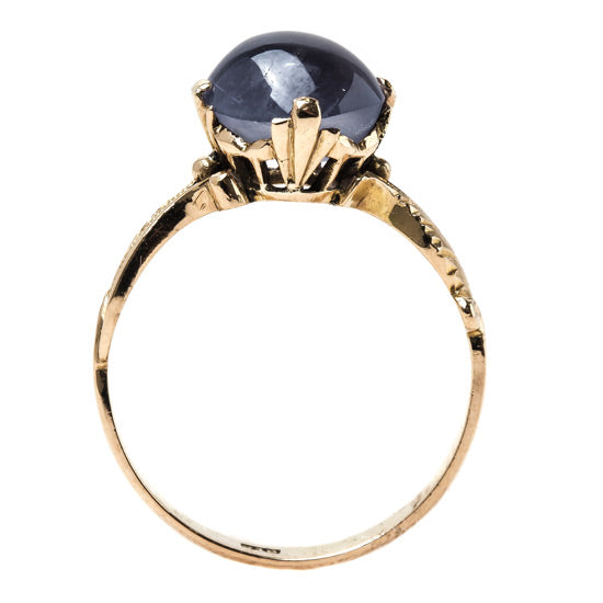 Whimsical Cabochon Sapphire Ring | Walgrove from Trumpet & Horn