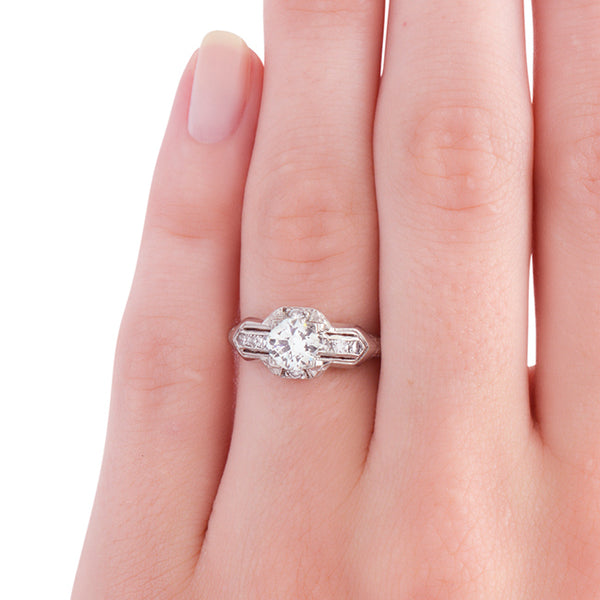 Art Deco Engagement Ring | Walterboro from Trumpet & Horn