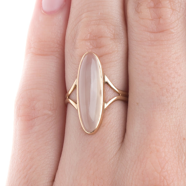 Vintage Moonstone Gold Ring | Warm Sands by Trumpet & Horn