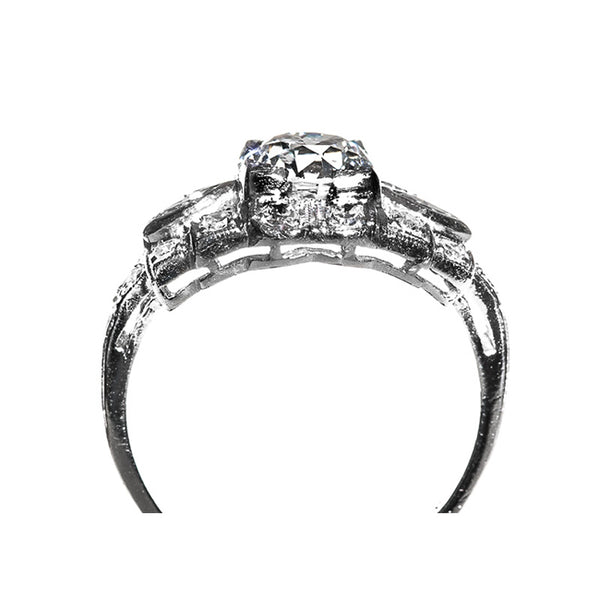 Unique Vintage Art Deco Engagement Ring | Warrenton from Trumpet & Horn