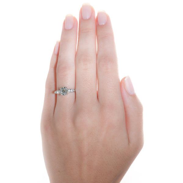 Vintage Engagement Ring | Vintage Diamond Ring | Waverly from Trumpet & Horn