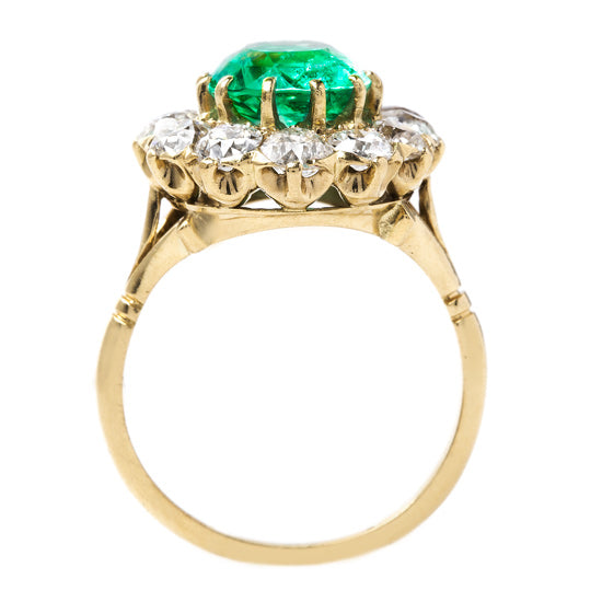 Lively Green Emerald Ring | Wellesley from Trumpet & Horn