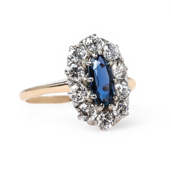 Unheated Oval Sapphire Ring | Westlake from Trumpet & Horn