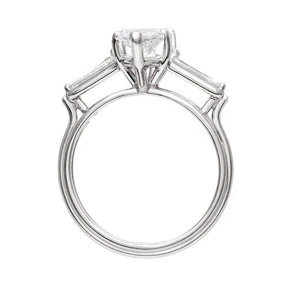 Classic and Refined Marquise Cut Diamond Ring | Whitefield from Trumpet & Horn