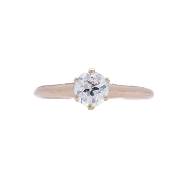 A Timeless Antique Victorian Era Yellow Gold and Diamond Engagement Ring | Williamstown
