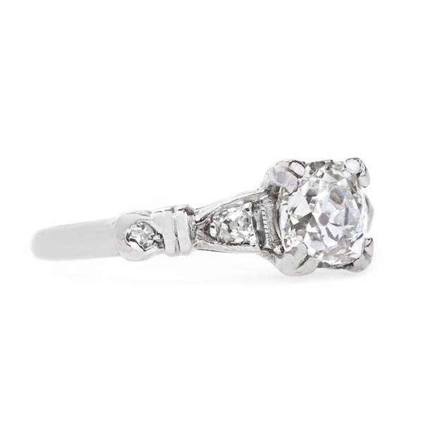 Classic Art Deco Engagement Ring | Wilmette from Trumpet & Horn
