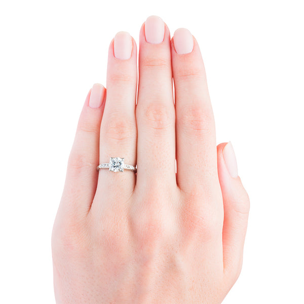 Art Deco Engagement Ring | Woodbury from Trumpet & Horn