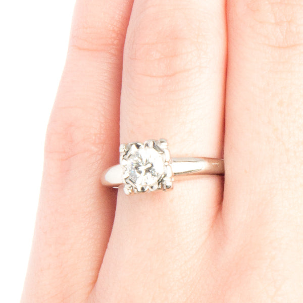 Vintage Solitaire Engagement Ring | York from Trumpet & Horn