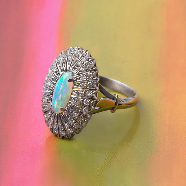 Bold and Showstopping Opal Cocktail Ring | Zamora from Trumpet & Horn