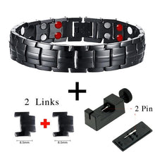 Punk bio-energy magnetic therapy bracelet - 4u2by.com