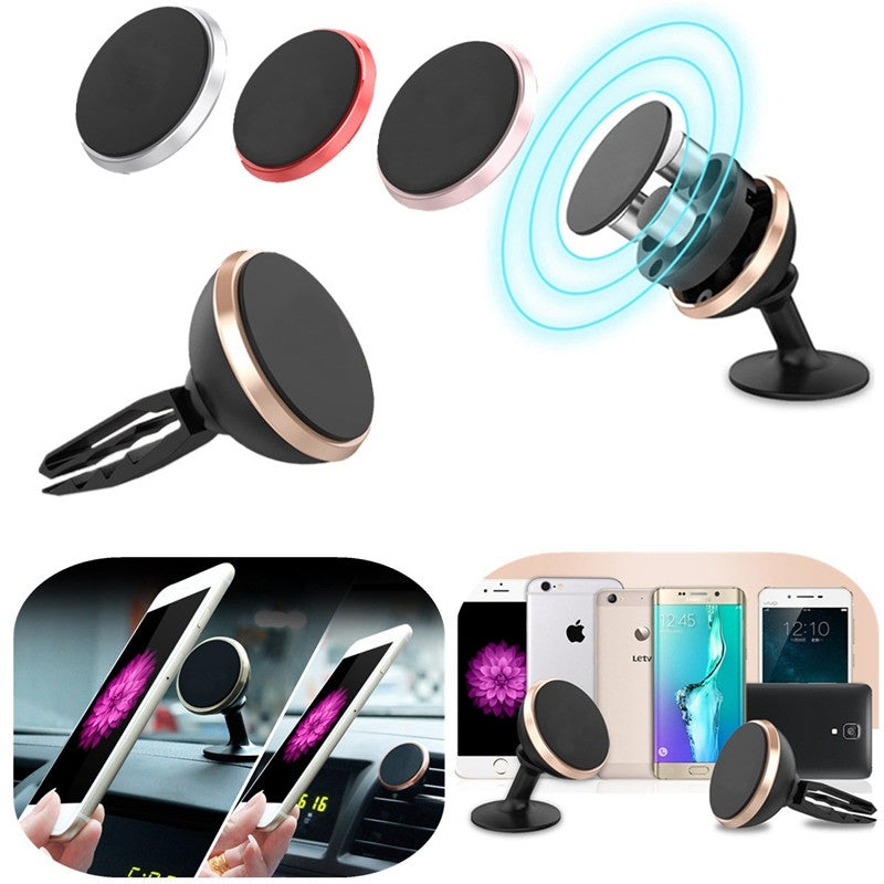 Sticky Magnetic Car Air Vent Holder Phone - 4u2by.com
