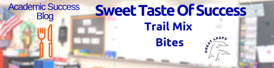 Sweet Taste Of Success: Trail Mix Bites