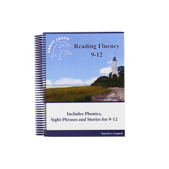 READING FLUENCY 9-12 INSTRUCTOR MANUAL