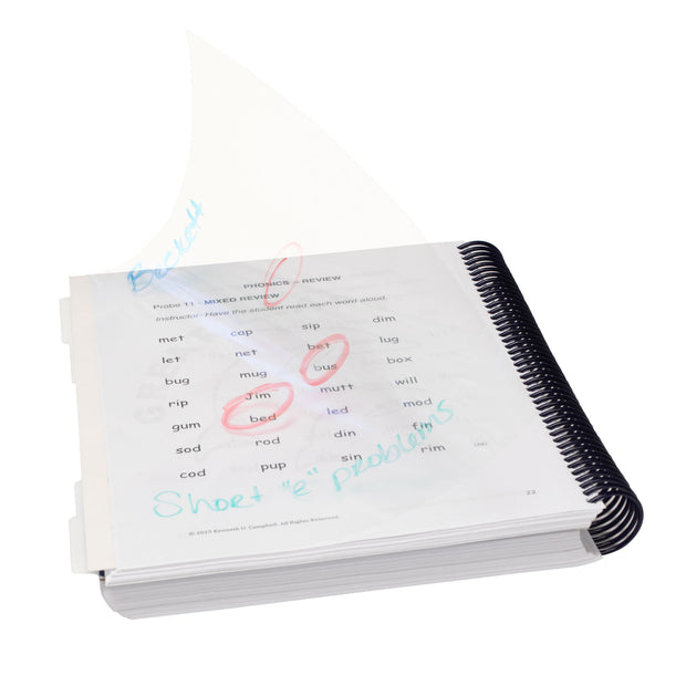Dry-Erase Transparencies