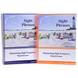 SIGHT PHRASES - ELIMINATING HIGH FREQUENCY ERRORS