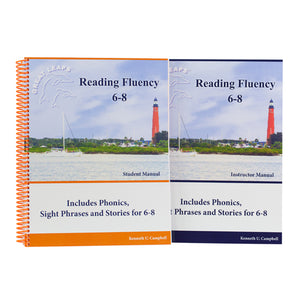 READING FLUENCY 6-8 PACKAGE