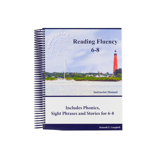 READING FLUENCY 6-8 INSTRUCTOR MANUAL
