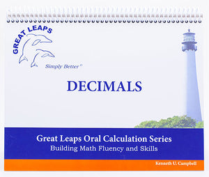 ORAL CALCULATION - DECIMALS