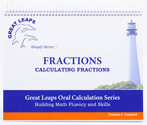 ORAL CALCULATION - FRACTIONS CALCULATING FRACTIONS