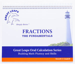 ORAL CALCULATION - FRACTIONS THE FUNDAMENTALS