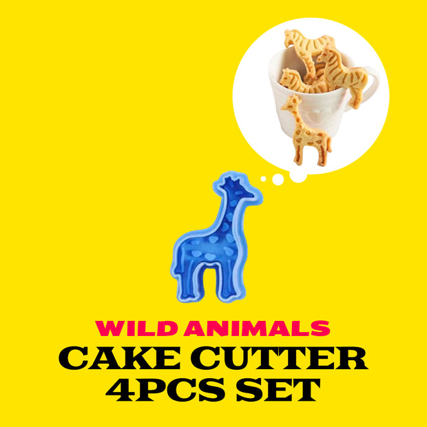 Wild Animals Shaped Cake Cutter