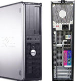 Dell Optiplex 755 Desktop PC Core 2 Duo 2.13 Ghz, 4GB RAM 80GB HD Windows 10 Pro 32 bit Keyboard Mouse