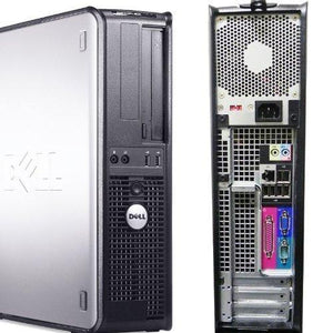 Dell Optiplex 760 Desktop Core 2 Duo 2.9 GHz 2GB RAM 1TB HDD Windows 7 Pro 64bit