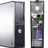 REFURBISHED Dell Optiplex 755 Desktop Computer Intel Core 2 Duo 2.13GHz Processor 4GB Memory 1TB HDD DVD/CD-RW Optical Drive Windows 10 Pro with USB Keyboard and Mouse