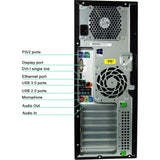 HP Z220 Workstation Tower with Win 10 Pro 64 Bit, Intel Core i5 3570 3.4GHz Quad Core CPU, 16GB DDR3 RAM, 256GB SSD, 2TB HDD, DRW, WIFI, Keyboard Mouse