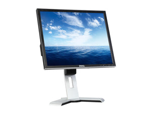 "Dell 19"" LCD Flat Panel Computer Monitor 1280x1024 Display Resolution"