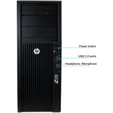 HP Z220 Workstation Tower with Windows 10 Pro 64Bit Intel Core i5 3570 3.4GHz Quad Core CPU, 8GB DDR3 RAM, 500GB HDD